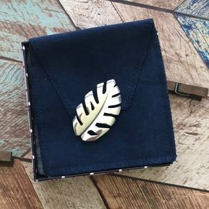 James Avery Leaf Pin
